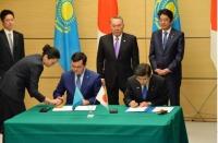 ニュース画像:国交省、日本/カザフスタン間の直行便開設で合意 成田・関西・中部