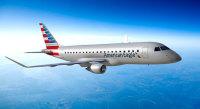 ニュース画像:エンブラエル、アメリカン航空にERJ-175初号機を納入