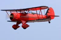 ニュース画像 4枚目:地上展示するWACO CLASSIC AIRCRAFT YMF WACO F5C
