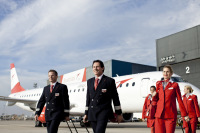 ニュース画像:オーストリア航空、2017年もパイロット100名超採用へ 2016年は145名