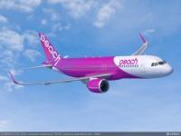 ニュース画像 1枚目:ピーチ、A320neo イメージ