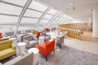 ニュース画像 3枚目:北京国際空港のランプエリアを眺めることができる