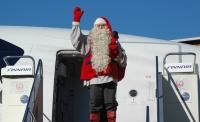 ニュース画像:フィンランド・サンタクロース財団のサンタクロース、フィンエアーで来日