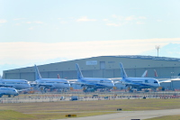 ニュース画像:ボーイング、787を2機受注 成約分は「魔のティーンズ」の契約か?