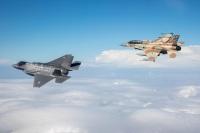 ニュース画像 1枚目:F-35IとF-16I