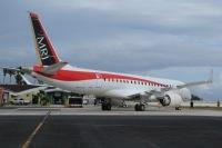 ニュース画像:MRJ飛行試験2号機「JA22MJ」、フェリーフライトの様子を新たに公開