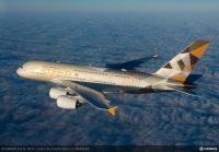 ニュース画像:エティハド航空、エアバスからA380の最優秀運航賞 定時運航率99.6%