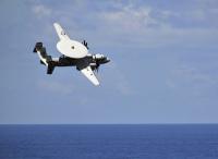 ニュース画像:アメリカ海軍、E-2Dホークアイが2月に岩国基地へ飛来 配備前訓練で