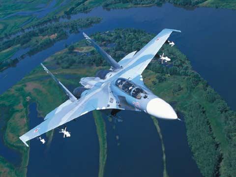 ニュース画像 1枚目:Su-27、画像はSu-27UBK