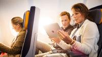 ニュース画像 1枚目:ルフトハンザ、機内Wi-Fi利用のイメージ