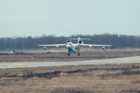 ニュース画像 2枚目:Be-200ES、離陸する様子