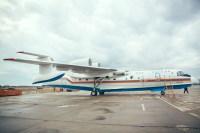 ニュース画像 4枚目:Be-200ES、機体を横から