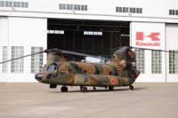 ニュース画像 1枚目:川崎重工が手がけるCH-47JA