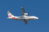 ニュース画像:日本エアコミューター、受領したATR 42-600のフェリーフライトを開始
