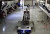 ニュース画像:ジャムコ、航空機シート用のダイナミック試験設備でFAAの認定取得