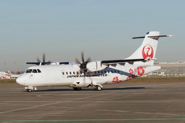 ニュース画像 1枚目:日本エアコミューター「JA01JC」
