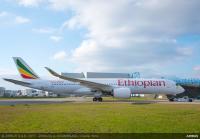ニュース画像:エチオピア航空、A350-900の3機目を受領 愛称は「エルタ・アレ」