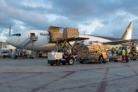 ニュース画像:UPS航空、バレンタインデーにあわせ767で64機分の花きを輸送へ