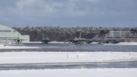 ニュース画像:三沢基地のF-16など、コープ・ノース17参加でグアムへ出発