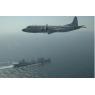 ニュース画像 2枚目:国際観艦式で展示飛行する海自P-3C