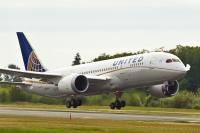 ニュース画像 1枚目:ユナイテッド航空、787-8