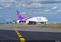 ニュース画像:タイ航空、成田、関西発着バンコク線でA380の投入継続 7月から747も