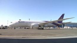 ニュース画像 1枚目:タイ国際航空 787 初号機「HS-TQA」