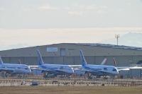 ニュース画像 1枚目:ペインフィールド11/29に並べられている「魔のティーンズ」787