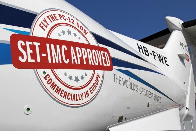 ニュース画像 1枚目:PC-12NG EASAから商用運航の認可
