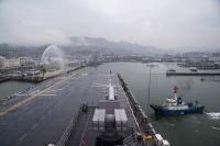 ニュース画像:ボノム・リシャール、巡回パトロールを終え佐世保港に帰港 4月10日