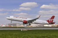 ニュース画像 1枚目:A321neoの初納入となったヴァージン・アメリカのN921VA
