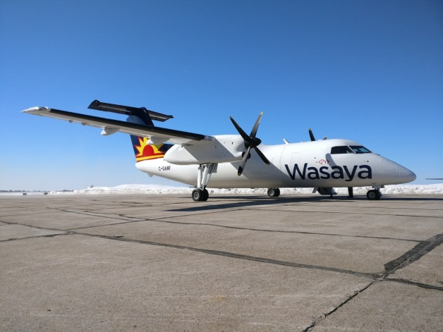 ニュース画像 1枚目:ワサヤ・エアウェイズに納入される世界初のDHC-8-100貨物機