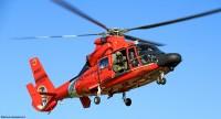 ニュース画像:アメリカ沿岸警備隊のMH-65ドーファン、150万飛行時間を達成