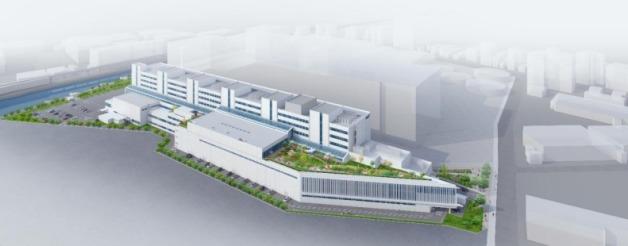 ニュース画像 1枚目:ANAが新設する総合トレーニングセンターのイメージ