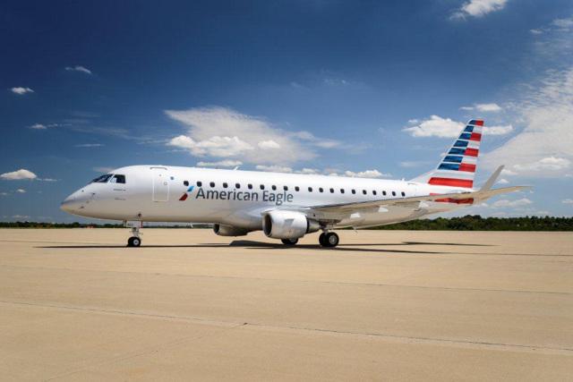 ニュース画像 1枚目:アメリカン・イーグルとして運航するエンボイ・エアのE175