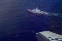 ニュース画像 1枚目:日本供与のPCG巡視艇と会合、通信訓練