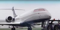 ニュース画像 1枚目:天然ダイヤモンド・コーティングを施した世界初の航空機、グローバル・エクスプレス