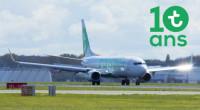 ニュース画像:トランサヴィア・フランス、運航開始から10周年で2,000万人を送客