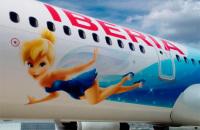 ニュース画像:イベリア航空、ディズニーランド・パリ25周年を祝う特別塗装機を運航