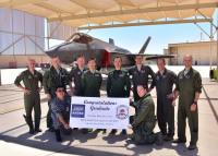ニュース画像 1枚目:ルーク空軍基地でF-35訓練プログラムを修了した空自2名のパイロット
