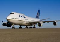 ニュース画像 1枚目:ユナイテッド航空 747-400