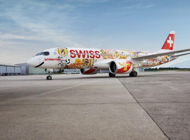 ニュース画像 1枚目:スイスインターナショナル「スイス・ロマンド」特別塗装機