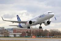 ニュース画像 1枚目:ハンブルク工場を離陸したA321neo