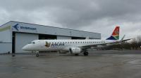 ニュース画像:エンブラエル、南アフリカ民間航空局からE190の型式証明を取得