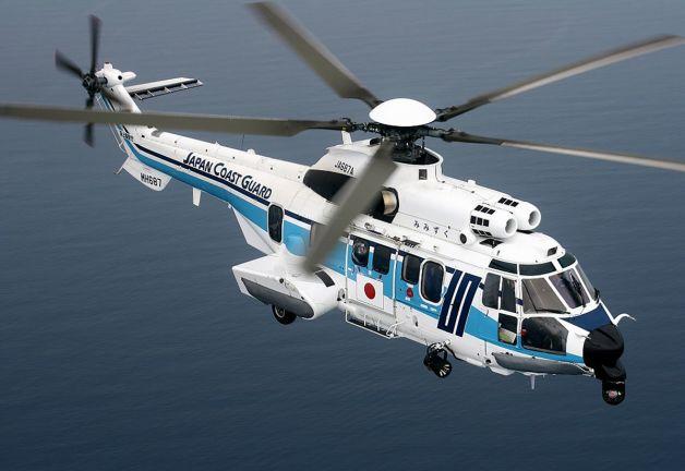 ニュース画像 1枚目:海上保安庁のH225ヘリコプター