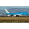 ニュース画像 2枚目:流れる流線型が特徴の新塗装 747-400にも登場