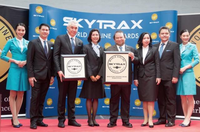 ニュース画像 1枚目:バンコクエアウェイズ「World's Best Regional Airlines」を受賞