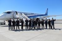 ニュース画像:三菱航空機、パリからの帰路にP&Wなどの社員に機体見学を実施
