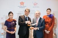 ニュース画像:香港航空とヴァージン・オーストラリア、マイレージプログラムも提携開始