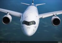 ニュース画像:エアバス、モスクワで開催されるMAKS国際航空ショーでA350-900を展示